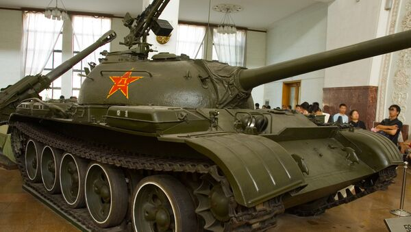 A Chinese Type 59 tank at the Beijing Military Museum - Sputnik International