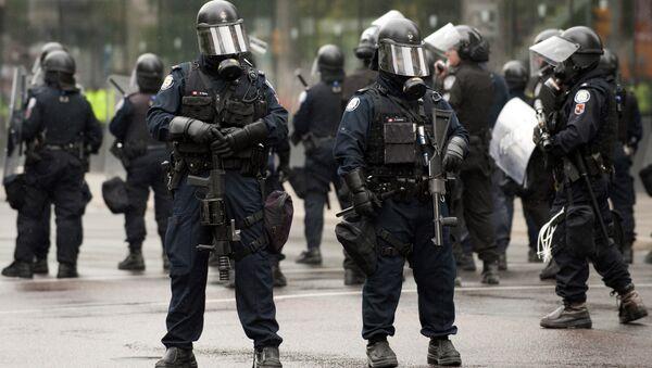 Canadian Police in Toronto. (File) - Sputnik International