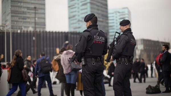Catalan police in Barcelona, Spain. (File) - Sputnik International