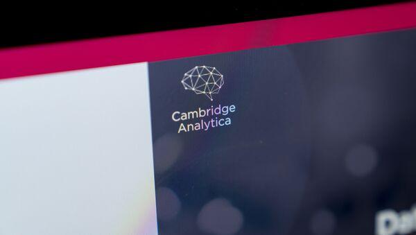 Cambridge Analytica - Sputnik International