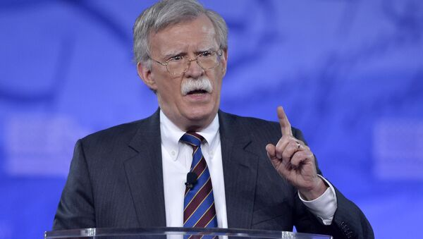 Former US Ambassador to the UN John Bolton speaking to the Conservative Political Action Conference (CPAC) at National Harbor, Maryland. (File) - Sputnik International