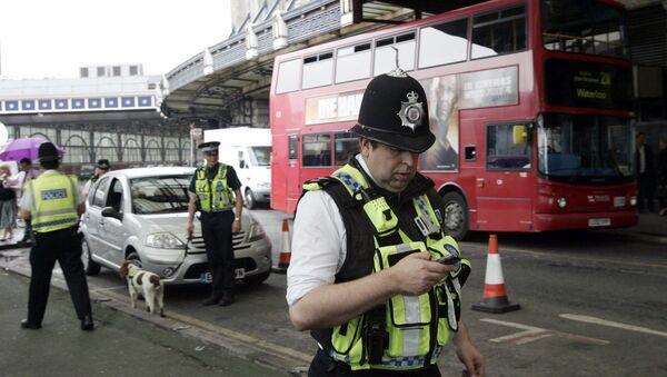 British police officers in London. (File) - Sputnik International