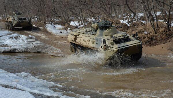 BTR-82A - Sputnik International