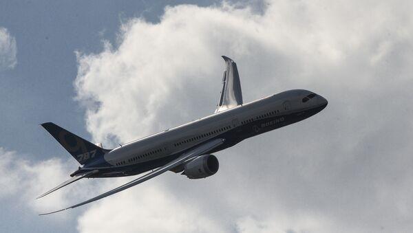 Boeing 787-9 Dreamliner at Farnborough 2014 - Sputnik International