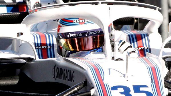 Formula One F1 - Australian Grand Prix - Melbourne Grand Prix Circuit, Melbourne, Australia - March 23, 2018 Williams' Sergey Sirotkin during practice - Sputnik International