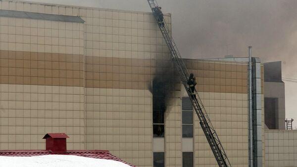 Пожар в торговом центре «Зимняя вишня» в Кемерово - Sputnik International