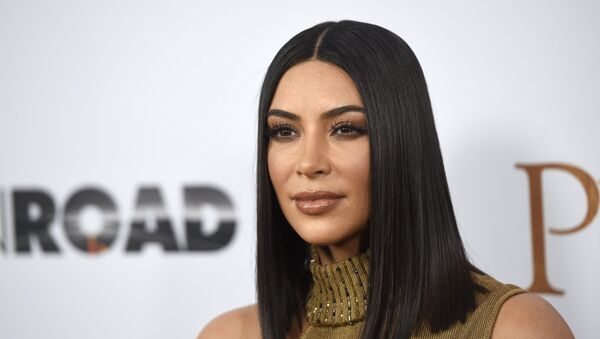 In this April 12, 2017, file photo, Kim Kardashian West arrives at the U.S. premiere of The Promise at the TCL Chinese Theatre in Los Angeles - Sputnik International