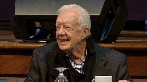 In this image taken from video, former President Jimmy Carter speaks at the annual Human Rights Defenders Forum at The Carter Center, Tuesday, May 9, 2017, in Atlanta - Sputnik International