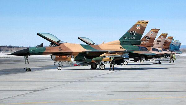 F-16, 57th Adversary Tactics Group - Sputnik International