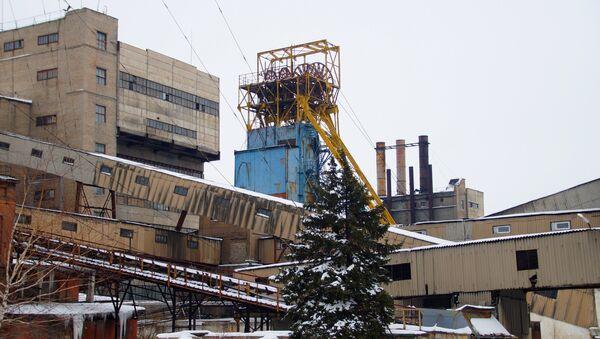The Belorechenskaya coal mine (Tsentrougol) in the Lutuginsky district of the Lugansk Region - Sputnik International