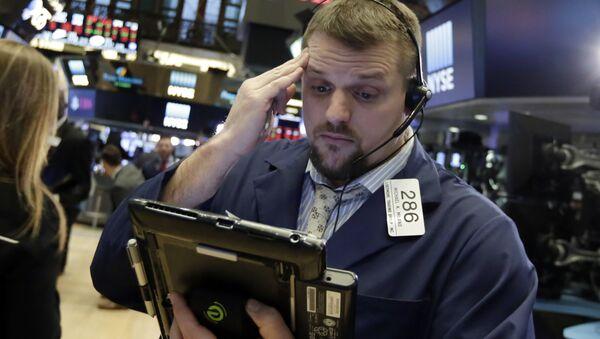 Financial Markets Fall Wall Street - Sputnik International