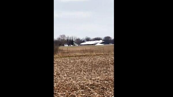 Indiana Airport Crash - Sputnik International