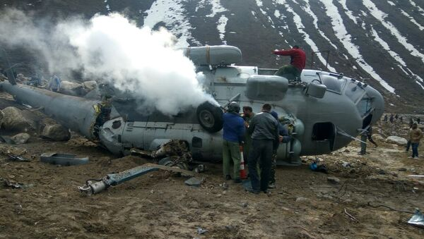 Indian Air Force's Mi-17 Helicopter Crashes Near the Himalayas - Sputnik International