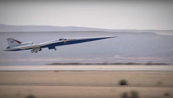 NASA and Lockheed Martin's Low-Boom X-Plane - Sputnik International