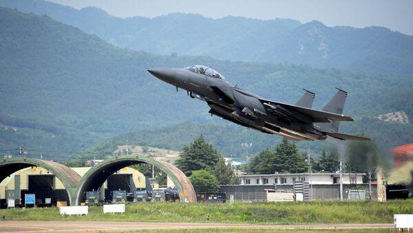 F-15K fighter jet - Sputnik International