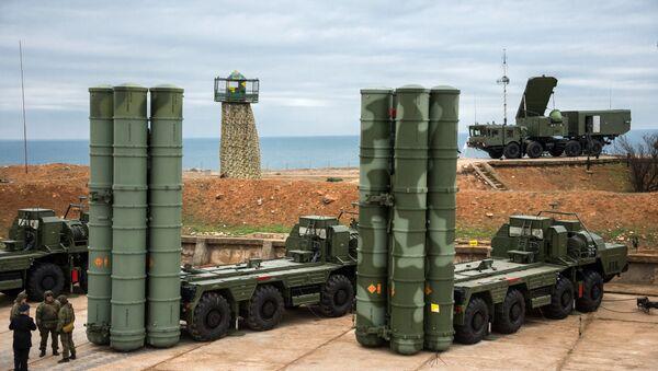 The S-400 Triumf anti-air missile system - Sputnik International