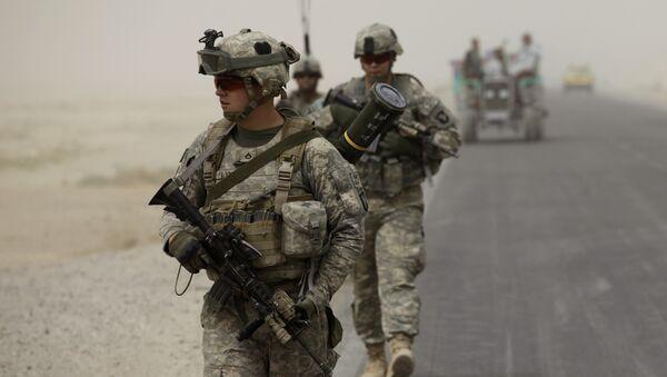 U.S army soldiers - Sputnik International