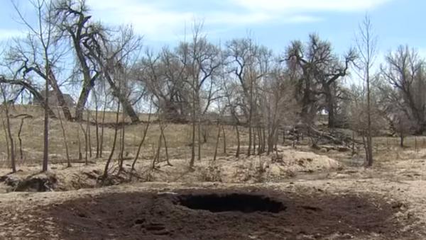 Crater found on Colorado ranch - Sputnik International