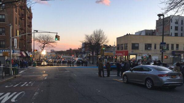 City Block in New York Where NYPD Gunned Down Saheed Vassell - Sputnik International