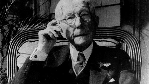 Oil magnate John D. Rockefeller is shown in this 1930 photo - Sputnik International