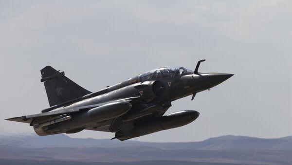 French Mirage 2000D jet fighter. (File) - Sputnik International