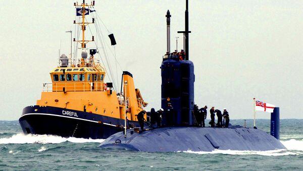 File Photo of UK Submarine - Sputnik International