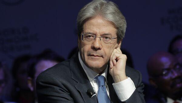 Italian Prime Minister Paolo Gentiloni (File) - Sputnik International
