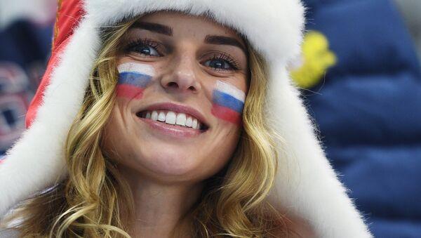 A Russian fan (File) - Sputnik International