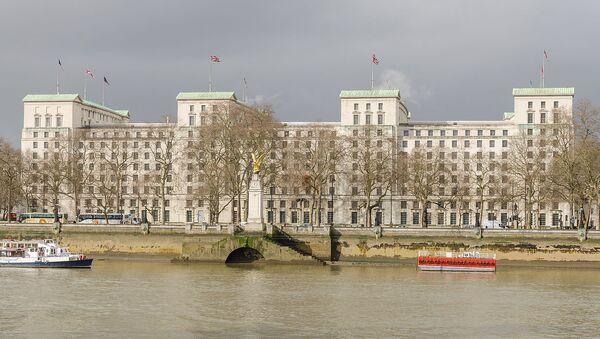 Ministry of Defence Main Building. London, UK - Sputnik International
