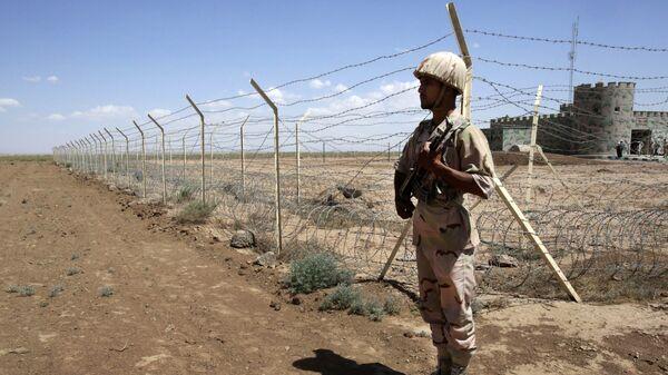 Iranian border guard. (File) - Sputnik International