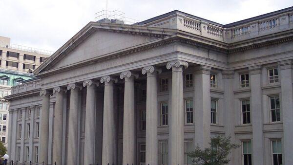 The U.S. Treasury building, Washington D.C. - Sputnik International
