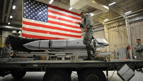 AGM-158 Joint Air-to-Surface Standoff Missile - Sputnik International