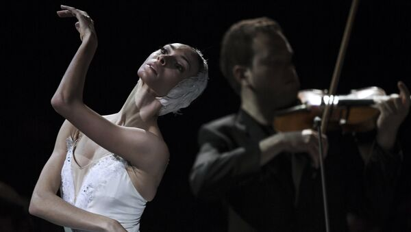 Bolshoi Theatre ballet dancer Olga Smirnova during a gala concert of the Svetlanov State Academic Symphony Orchestra of Russia and the Sveshnikov State Academic Russian Choir at the historical stage of the Bolshoi Theatre, Moscow - Sputnik International
