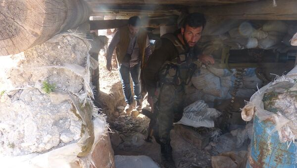 Underground tunnels in Eastern Ghouta. File photo - Sputnik International