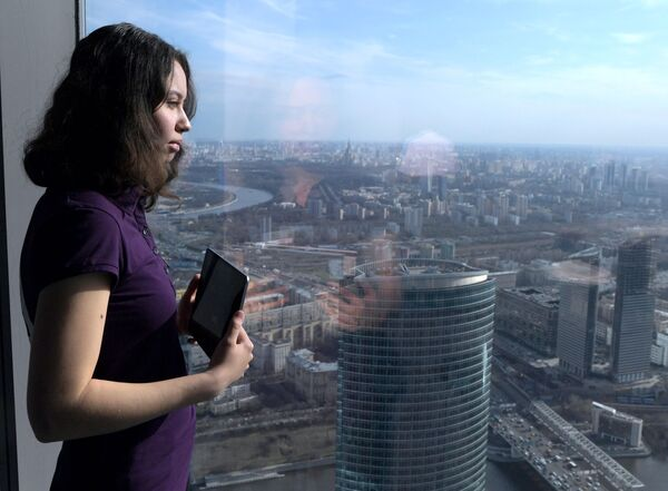 Looking Over Moscow From New Point - Sputnik International