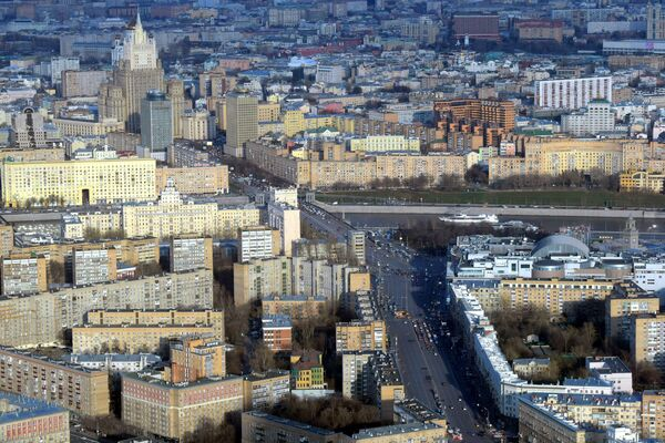 Moscow Center From 327 Meters - Sputnik International