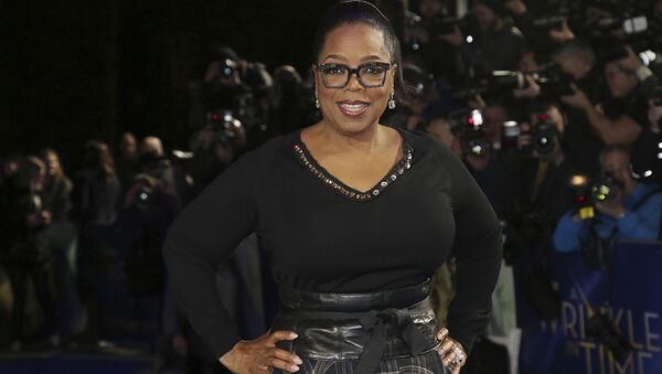 Actress Oprah Winfrey poses for photographers upon arrival at the premiere of the film 'A Wrinkle In Time' in London, Tuesday, March 13, 2018 - Sputnik International