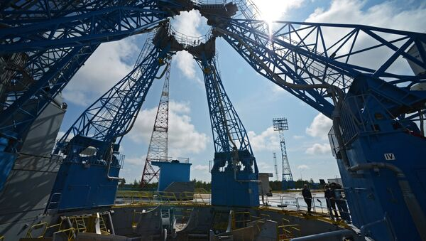 The launch pad at the Vostochny Space Center - Sputnik International