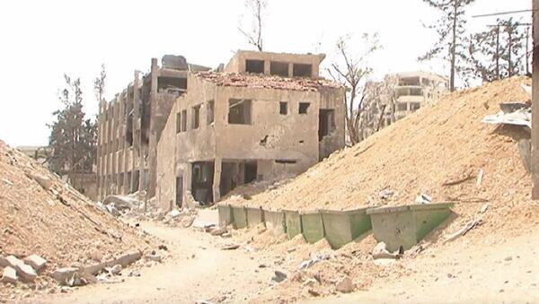 Syria: Jaish al-Islam's 'Prison of Repentance' uncovered in Douma - Sputnik International