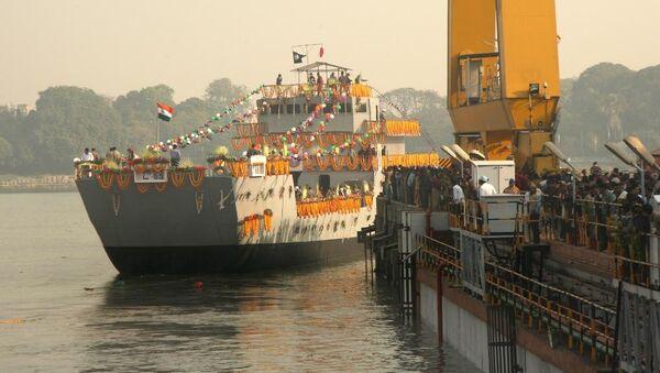 The third ship of the Landing Craft Utility (LCU) Mk IV project - Sputnik International
