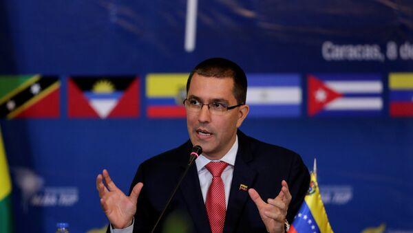Jorge Arreaza, el canciller venezolano - Sputnik International