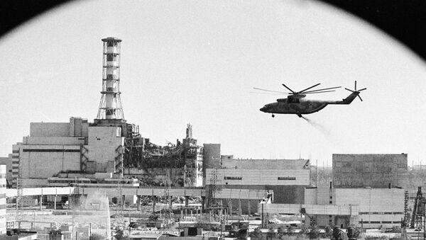 Decontamination of the Chernobyl nuclear power plant buildings - Sputnik International