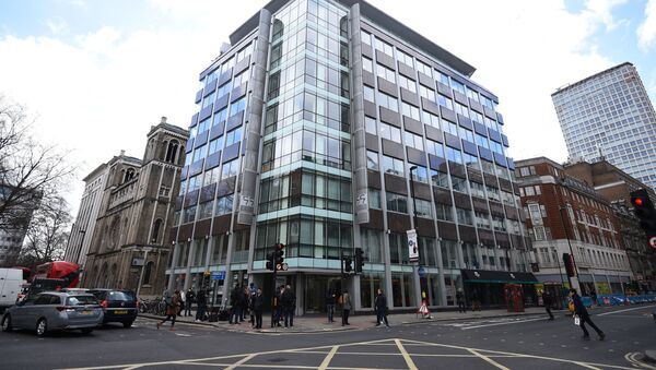 The offices of Cambridge Analytica (CA) in central London, after it was announced that Britain's information commissioner Elizabeth Denham is pursuing a warrant to search Cambridge Analytica's computer servers, Tuesday March 20, 2018 - Sputnik International