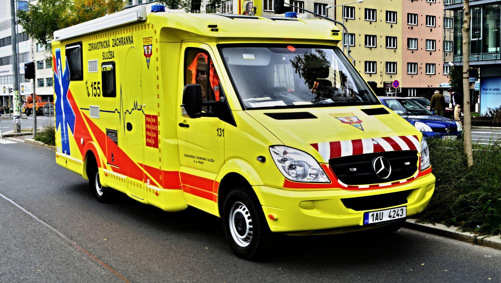 Ambulance in Czech Republic - Sputnik International, 1920, 04.08.2021