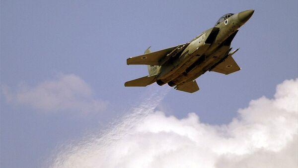 An Israeli Air Force F-15 (File) - Sputnik International