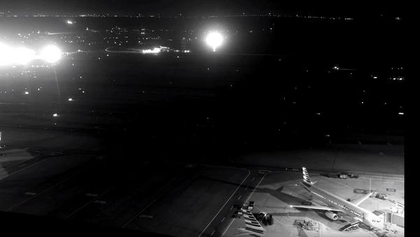 Air Canada taxiway overflight video - Sputnik International