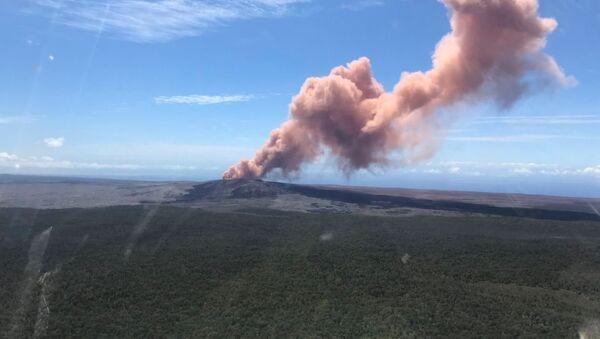 Hawaii Volcano Eruption - Sputnik International