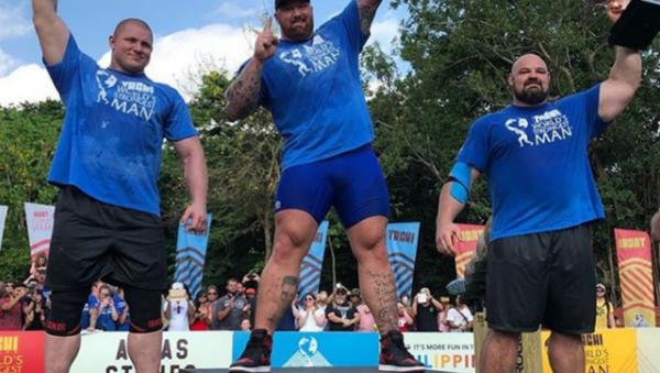 Strongest Man 2018 - Sputnik International