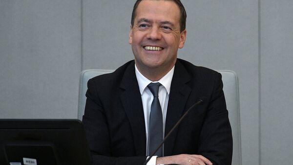 Russian Prime Minister Dmitry Medvedev (File) - Sputnik International