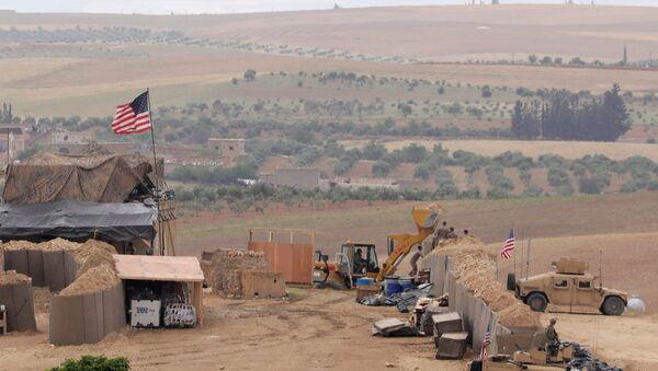 US forces set up a new base in Manbij, Syria May 8, 2018. Picture Taken May 8, 2018 - Sputnik International